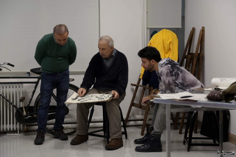 ویدئو: کارگاه طراحی و نقاشی مدرن استاد یعقوب عمامه پیچ